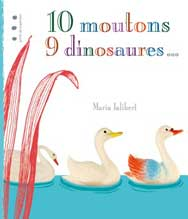 10 moutons 9 dinosaures